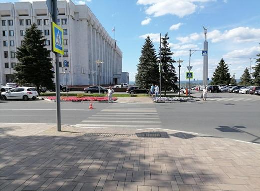 В центре Самары водитель сбил ребенка на пешеходном переходе