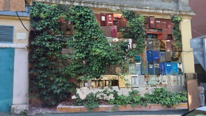 Самарцев просят поделиться почтовыми ящиками для создания арт-стены