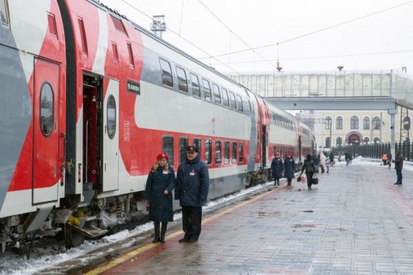 «Новогодний экспресс» будет ездить из Ярославля в Санкт-Петербург и обратно каждый день