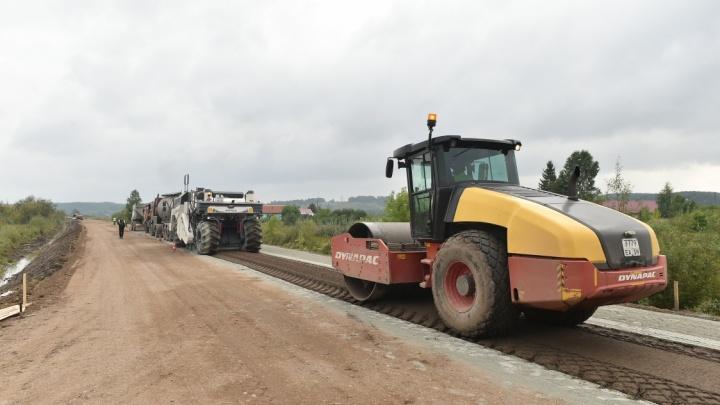 В Прикамье заасфальтируют дорогу Кишерть — Посад — Сухой Лог, которую не ремонтировали почти 40 лет