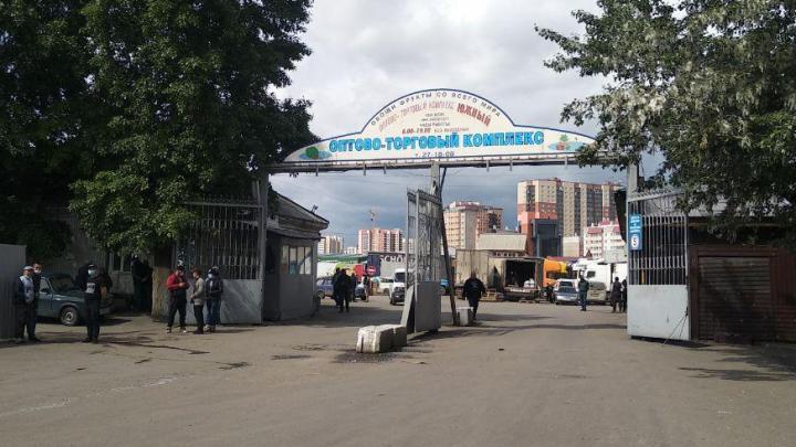Рынок «Южный» на Шахтеров закрывают из-за коронавируса у торговцев