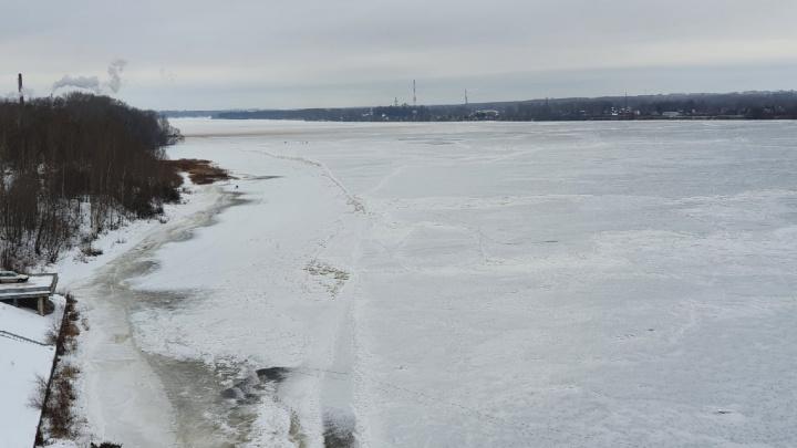 Коричневый налёт покрыл Волгу: в Ярославле завод заподозрили в загрязнении реки