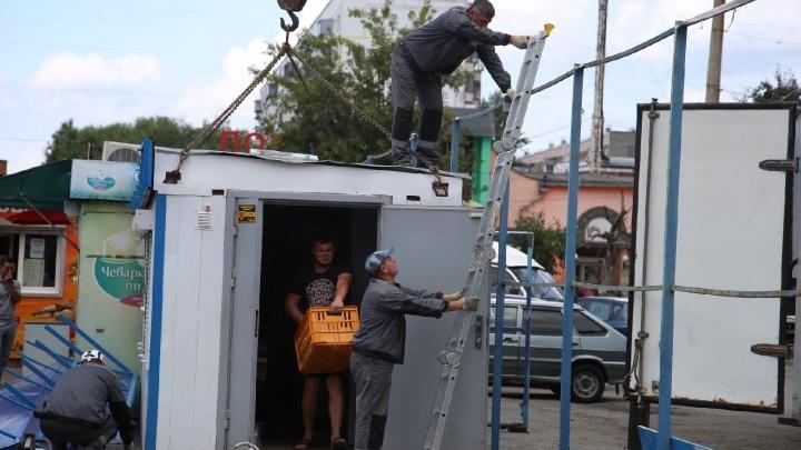 Власти пообещали навести порядок на 30 перекрёстках Челябинска, усеянных киосками