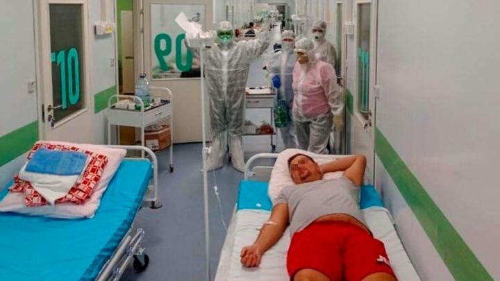 В правительстве Башкирии рассказали, кто лежит в коридоре COVID-госпиталя в Зубово