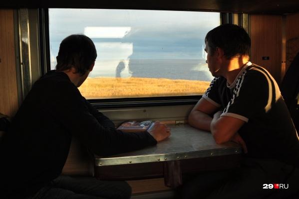 Пассажирка поезда сообщила, что в основном люди ездят в поезде, не надевая масок