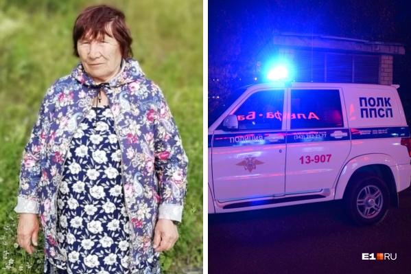 Бабушку, которая ушла из дома в Алапаевске, не могут найти уже больше месяца