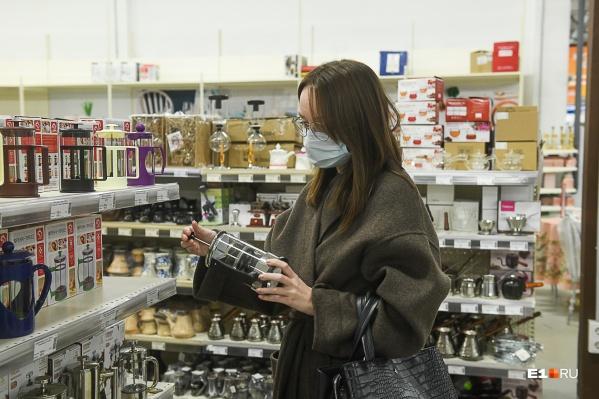 Магазины в Екатеринбурге открылись, несмотря на запрет
