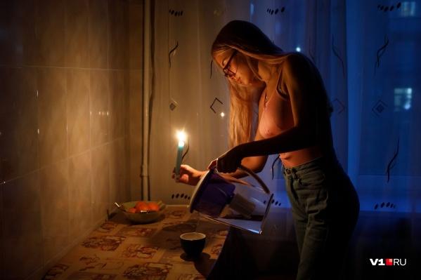 Ужинать жителям Ворошиловского района придется при свечах
