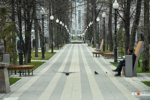 Улицы Екатеринбурга, как и весной, могут опустеть из-за коронавируса
