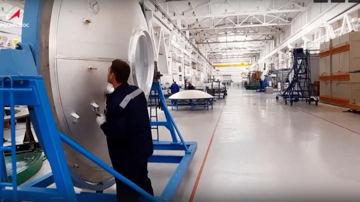 «Роскосмос» показал, как на омском «Полёте» строят ракеты «Ангара»