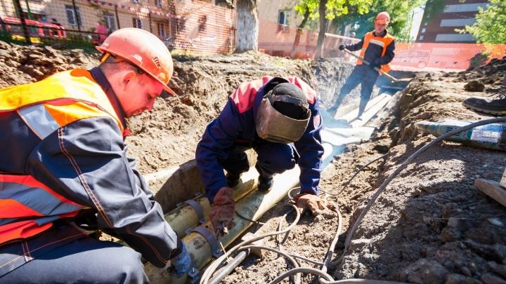 Первое отключение горячей воды затронет больше тысячи домов челябинцев. Ищем свой адрес
