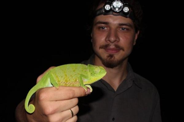 Александр Игнатенко — сотрудник ростовского зоопарка