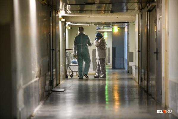 Продолжают лечить пациентов с ковидом больница №11, инфекционная больница №1, детская больница №3 и больница №12