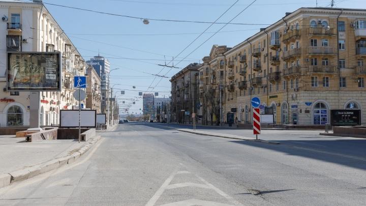 Пустые улицы и очередь у почтамта: Волгоград переживает второй день изоляции