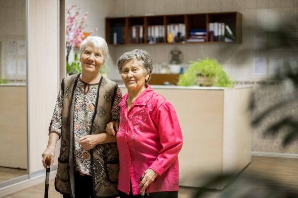 В пансионате «Моя семья» бабушки и дедушки чувствуют себя счастливыми