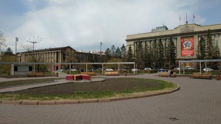 В Красноярске закрывают парковки около популярных у красноярцев мест для прогулок