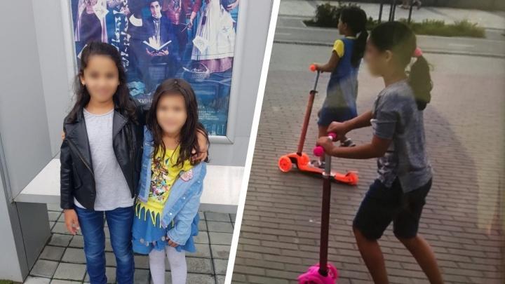«Уехали кататься на самокатах»: в Новосибирске почти сутки ищут двух пропавших маленьких сестёр