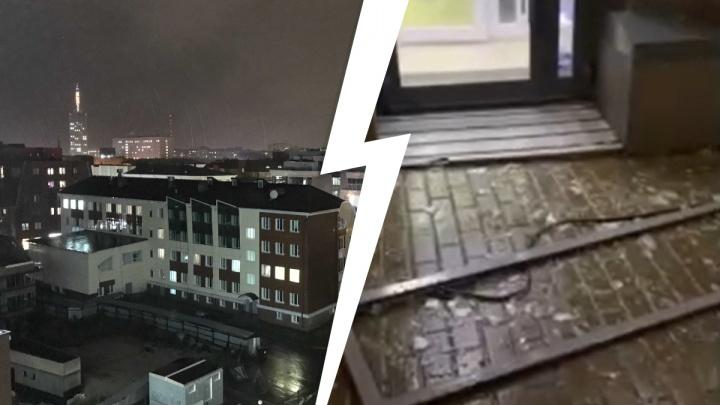 Этот октябрь не перестает удивлять! Как Архангельск справлялся с непогодой — смотрим фото и видео