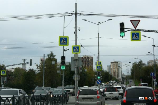 На Московской установили очередной комплекс фотофиксации
