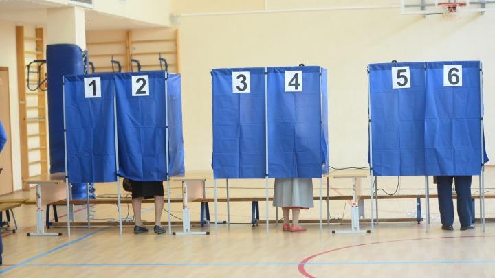 К 15 часам явка на выборах в Свердловской области составила почти15процентов