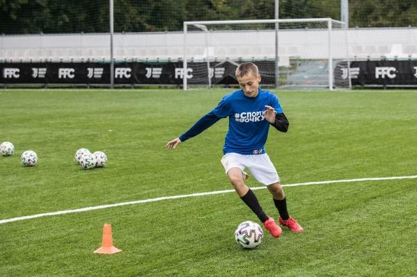 Пятеро победителей конкурса от Pepsi и «Пятёрочки» отправились в футбольную академию «Ювентус» в Москве