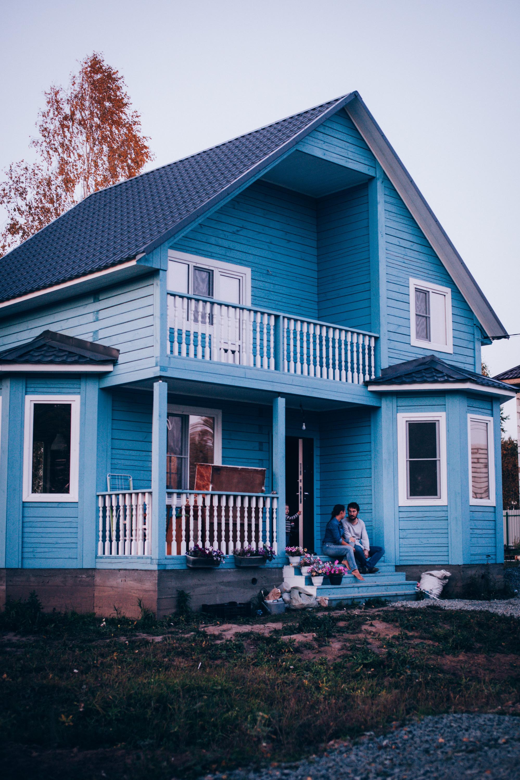 Дом Валерии и её семьи находитсяв селе Каменка, недалеко от Новосибирска