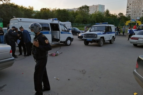 Участников драки задержали сотрудники полиции