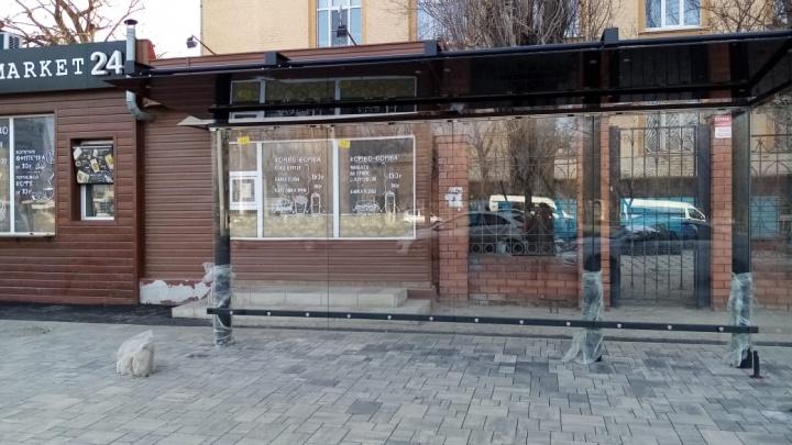 """«Это уже не """"пивная баклажка""""»: в Волгограде вернулись к прежнему стилю павильонов-«стекляшек»"""