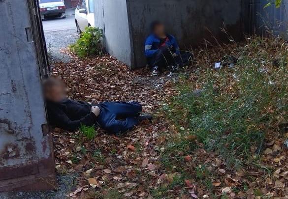В Центральном районе Кемерово на улице нашли два трупа