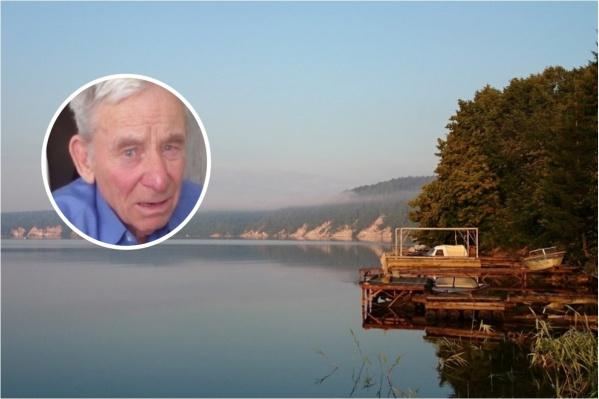 Леонида Ильича искали в районе реки Чусовой рядом с селом Кривое