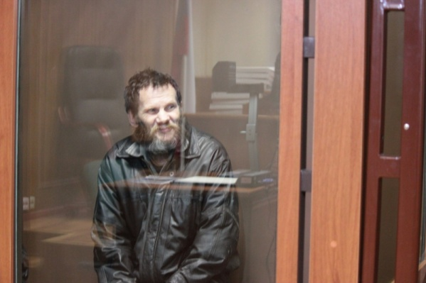 Эдуард Селезнёв на скамье подсудимых