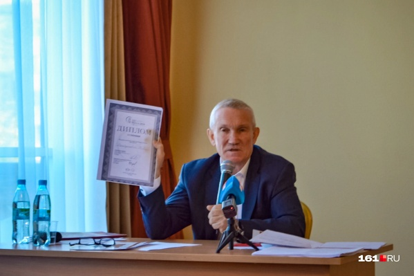 Буштырев считает, что запущенная им кислородная станция смогла бы помочь больницам Ростова