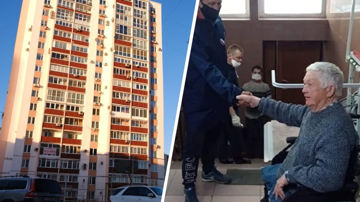 В Челябинске почетного металлурга-инвалида вызвали в суд из-за подъемника, установленного в канун Дня Победы