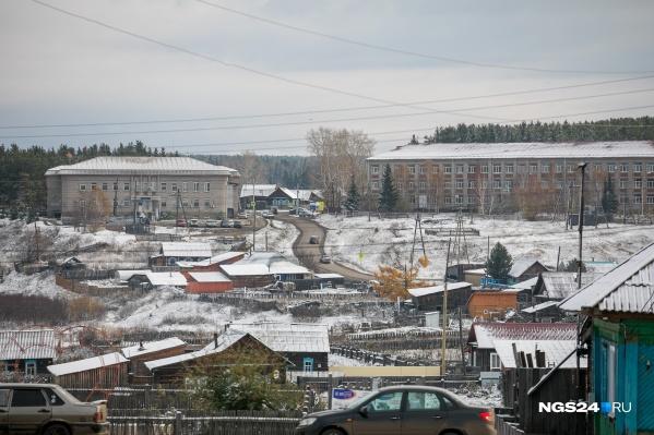 Все произошло в поселке Тасеево на улице Набережной