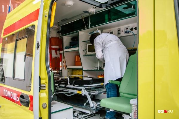 В Самаре работает 55 бригад скорой помощи