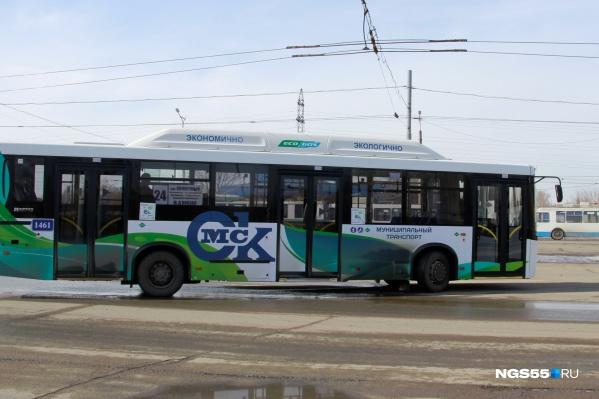 Изначально в метановых автобусах было не очень тепло