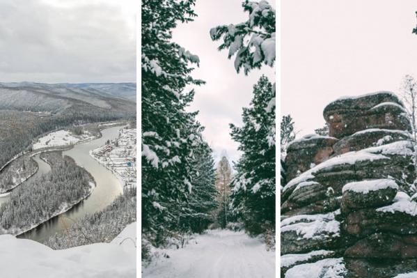 Подборка шикарных мест для активного отдыха в радиусе 100 километров от Красноярска