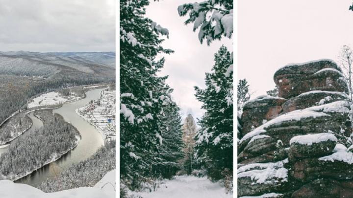 Дышать и гулять: 7 мест в Красноярске и в радиусе 100 километров от города для активного отдыха