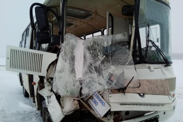 Авария произошла на 9 км в направлении села Борково
