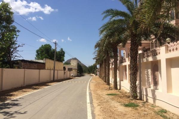 В день приезда в Пушкар Милену не смутили пустые улицы