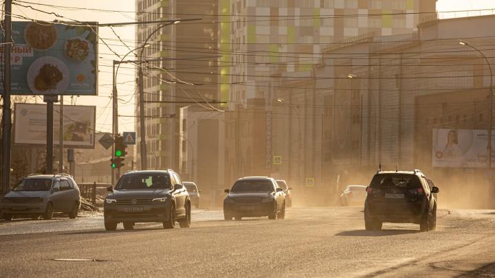 В Новосибирске протестируют новое средство против пыли — его применяли в угольной промышленности