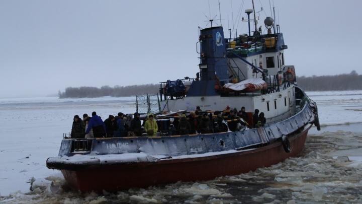 В декабре в Архангельске запустят буксиры до деревни Реушеньги: расписание рейсов