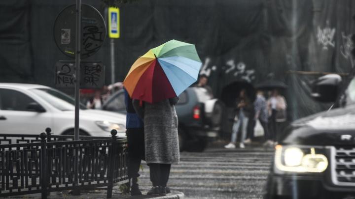 Запахло осенью: дожди останутся в Екатеринбурге на неделю
