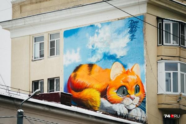По мнению Натальи Котовой, рисунки на зданиях значительно оживят облик города