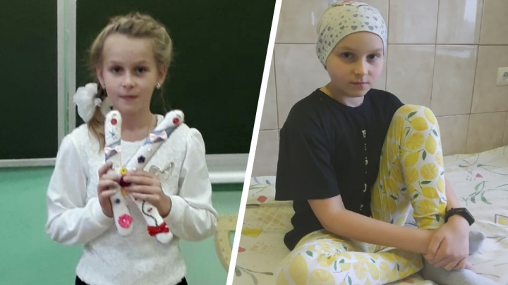 «Просто поднялась температура»: в Ярославле 11-летняя девочка шесть лет пытается победить рак