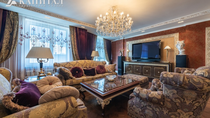 В Екатеринбурге продают роскошную квартиру для «аристократов». Смогли бы в такой жить?