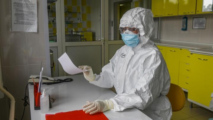 Как по линеечке: в Свердловской области коронавирус обнаружили еще у 119 человек