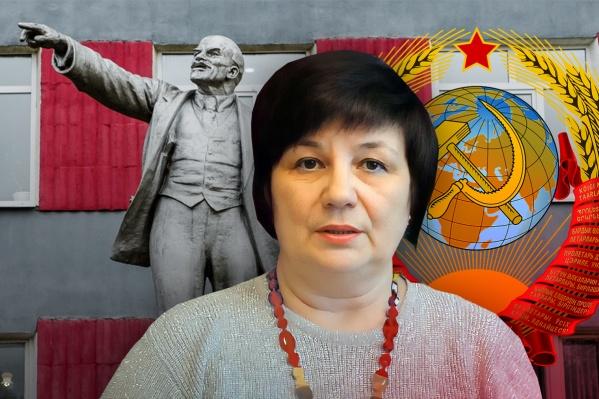 Жительница Верещагино Светлана Зоря возглавляет одно из движений по возрождению СССР
