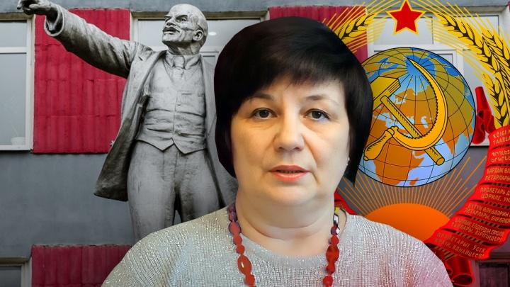 Они все еще живут в СССР, а РФ считают частной компанией. История жительницы Верещагино, решившей «возрождать Советский Союз»