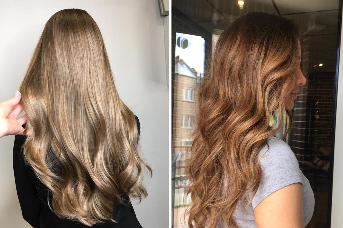 Также всегда актуальны длинные волосы. По мнению эксперта, оптимальная длина для длинных волос — это когда открыта талия, так прическа подчеркивает фигуру